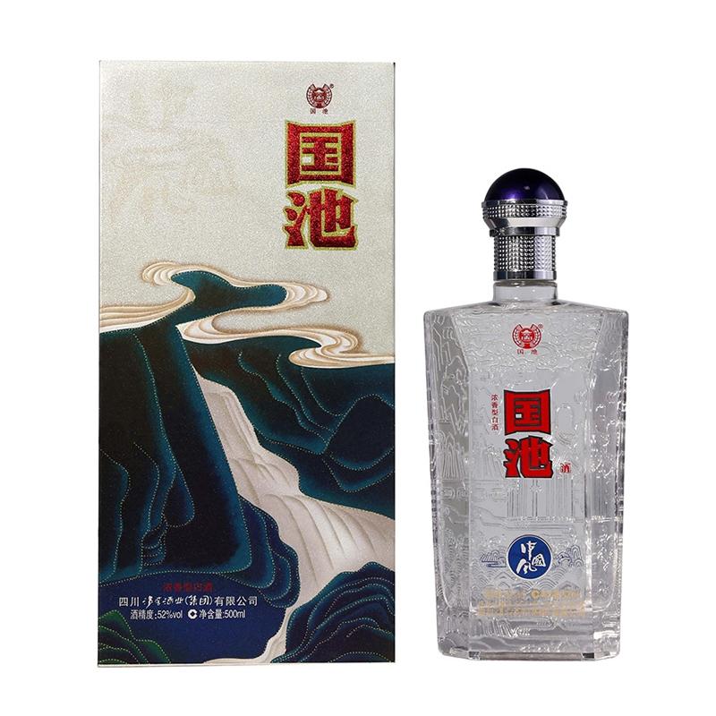 国池中国风52度白酒