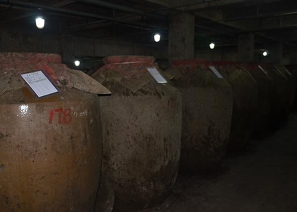 泸窖酿酒车间